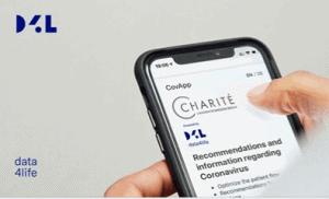 Mobile Anzeige von Charite Informationen