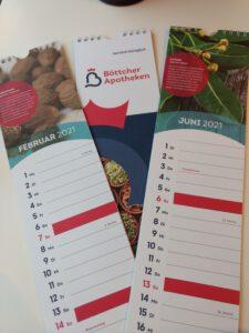 Kalender der Böttcher Apotheken für 20202