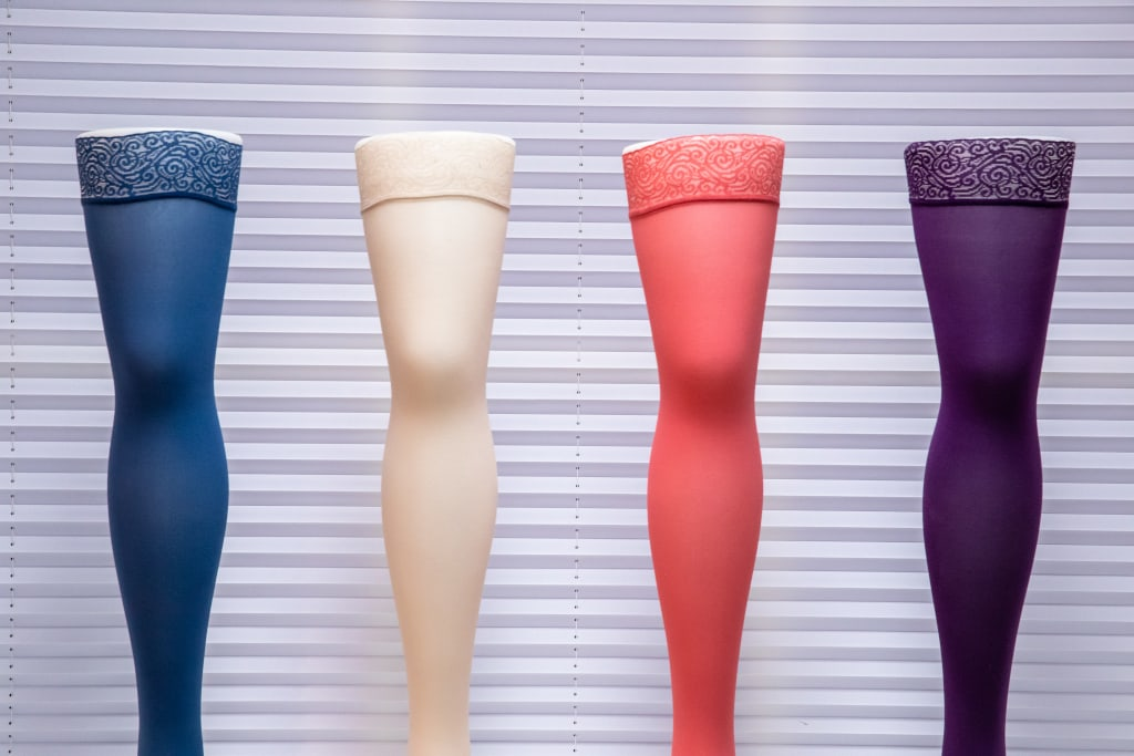 Trendfarben der Kompressionsstrümpfe